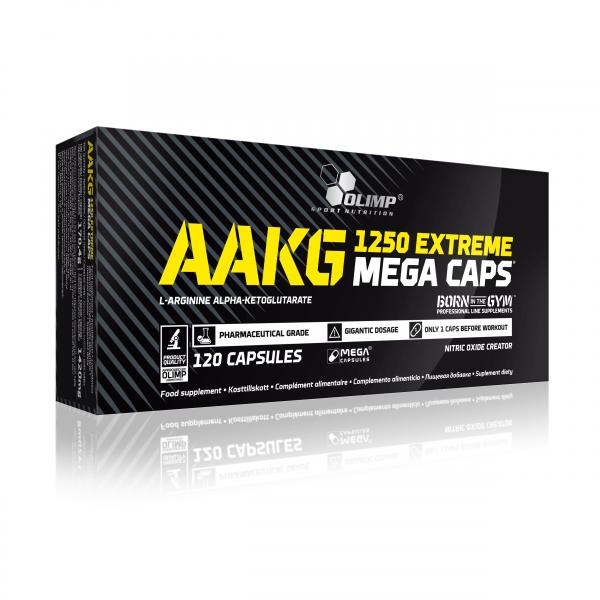 Olimp AAKG 1250 Extreme Mega Caps 120 caps