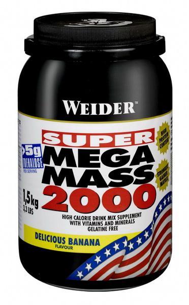 Weider Mega Mass 2000 1,5 kg