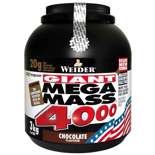 mega mass 4000 how to use