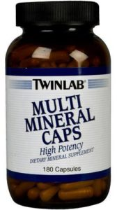 Twinlab Multi Mineral Caps 180 капс