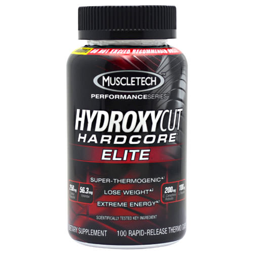 Muscle Tech Hydroxycut Hardcore Elite 100 caps
