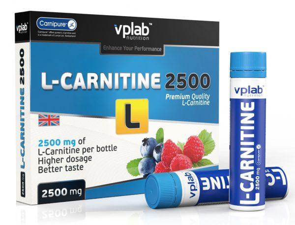 VPLab L-carnitine 2500 7x25ml