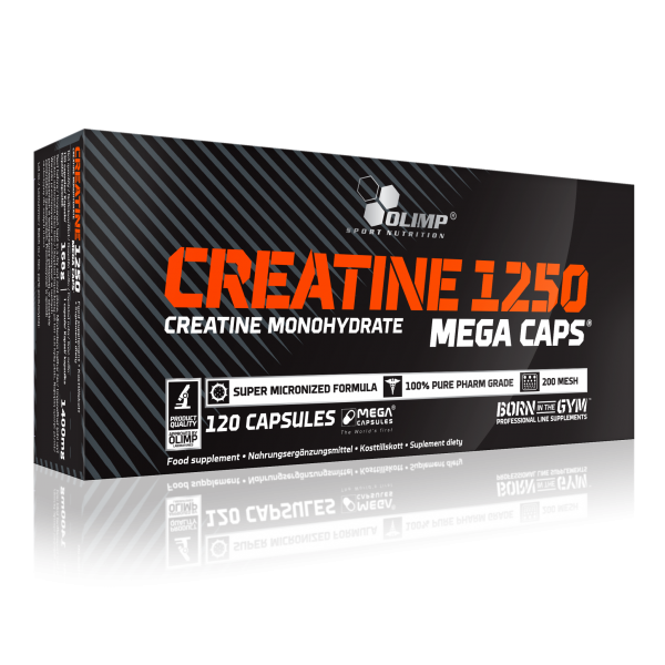 Olimp Creatine Mega Caps 120 капсул