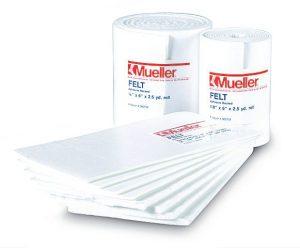 p  mueller adhesive backed felt