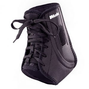 p   mueller atf ankle brace black
