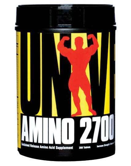 Universal Nutrition Amino 2700 350 таблеток
