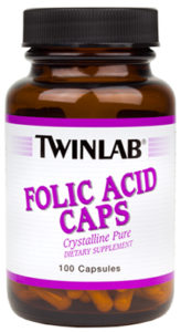 Twinlab Folic Acid 100 caps