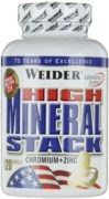 Weider High Mineral Stack 120 капс