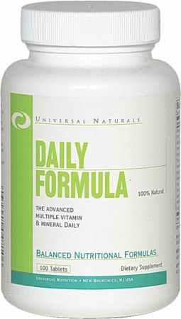 Universal Nutrition Daily Formula 100 таб