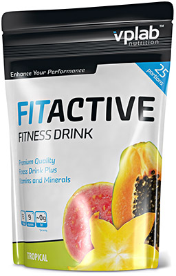VPLab Fit Active Fitness Drink 500 г