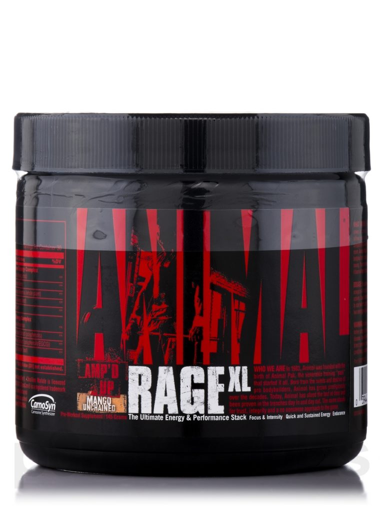 Universal Nutrition Animal Rage XL 146 г