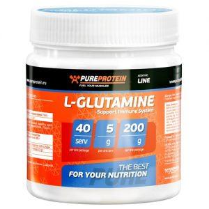 pureprotein-l-glutamine-200g