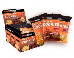 Protein cookies от бренда PureProtein_390x360
