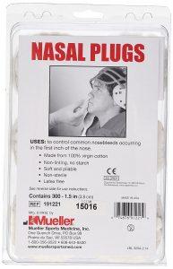 Mueller Nasal Plugs 191221