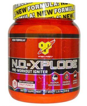 N O Xplode New Formula Caffeine Free