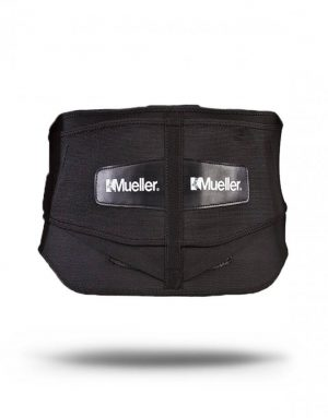 lumbar support back brace with removable pad