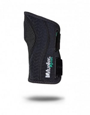 mueller green fitted wrist brace e