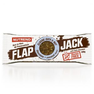 nutrend flapjack gluten free g