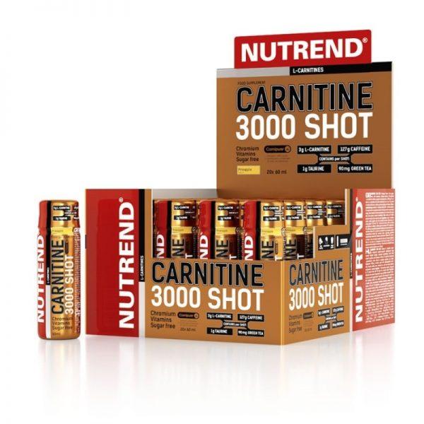 carnitine  shot l karnitin nutrend